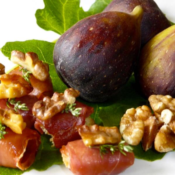 Figs in Parma Ham