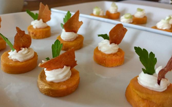 Sweet Potato with Whipped Feta