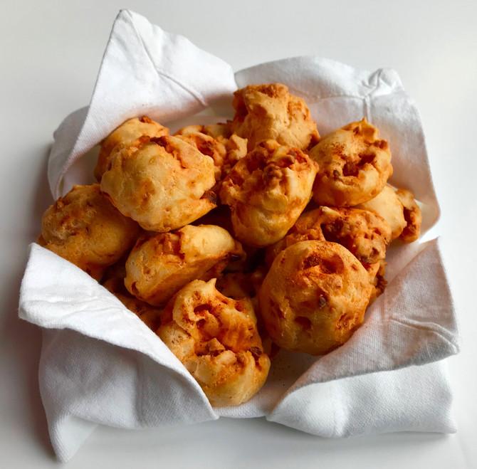 Spicy Choux Puffs