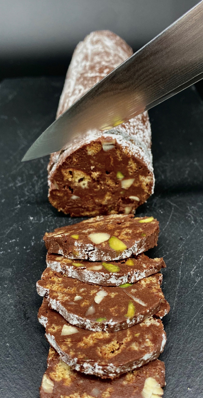 Italian Chocolate Salami