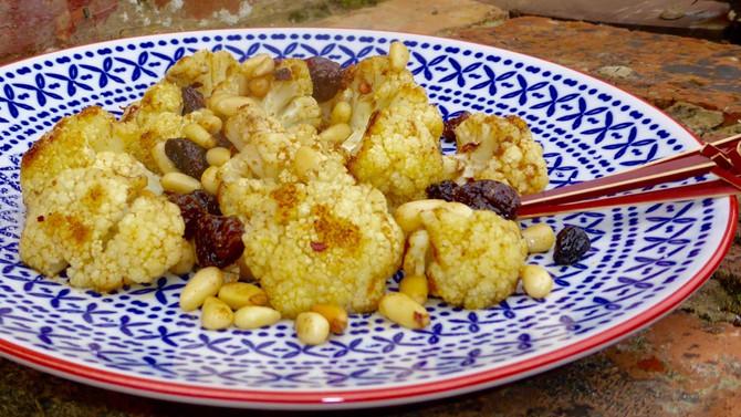 Roasted Karnabahar (cauliflower)