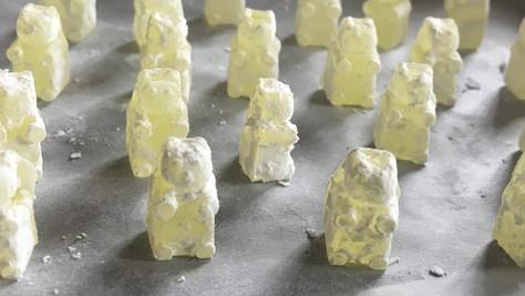 Limoncello Gummy Bears and Lemon Posset