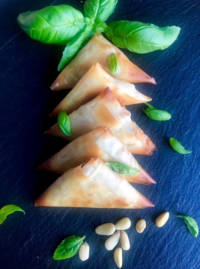 Mediterranean Filo Triangles