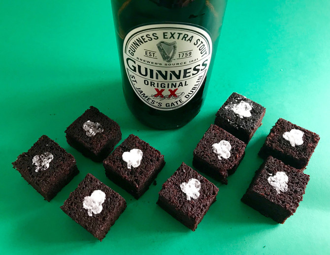 Chocolate and Guinness cakes
