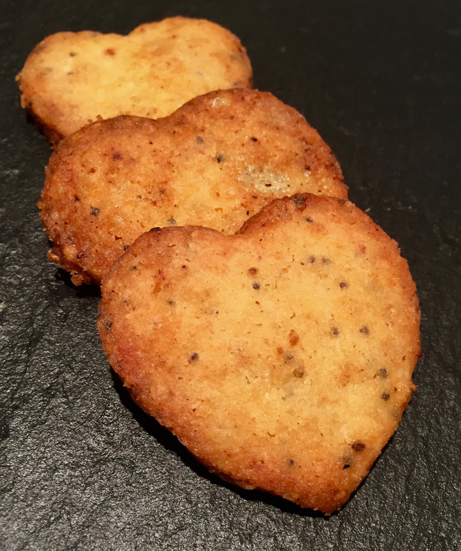 Jane's Cheese and Chilli Biscuits
