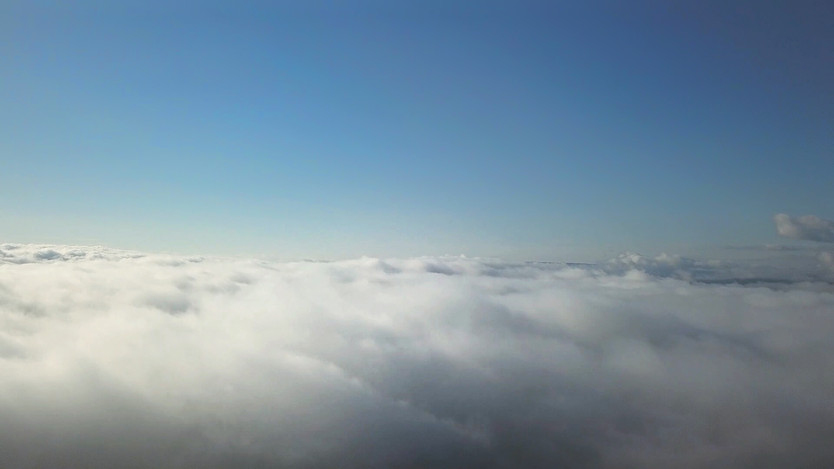 Can drones fly above the clouds?