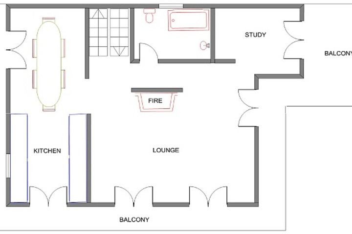 Lay Out First Floor