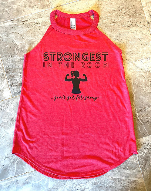 Strongest In The Room Red Tank