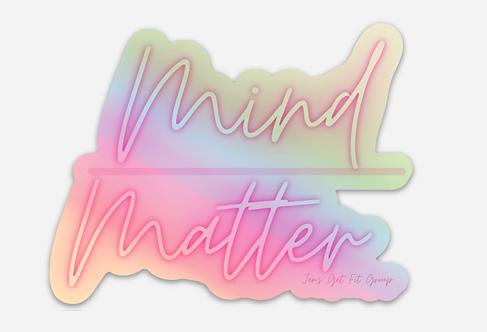 Mind/Matter Sticker