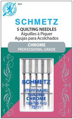 Schmitz chrome quilting sewing machine needles