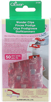 clover wonder clips pins hold fabric quilter essentials