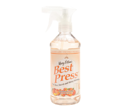 Best Press Spray Starch Peaches and Cream 16.9 Ounce, Clear Starch and Sizing