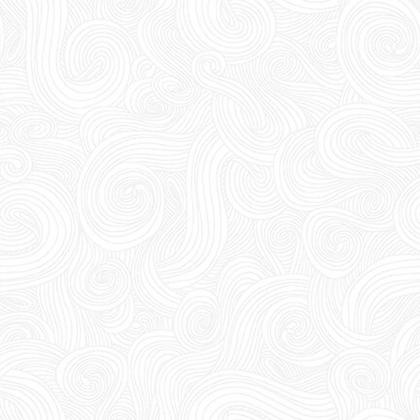 """108"""" wide backing fabric for quilt in 5317-1W Pigment White swirl studio e just color"""