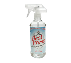 Best Press Spray Starch Scent Free 16.9 Ounce, Clear Starch and Sizing