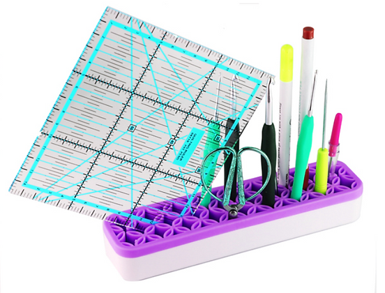 The new sew desktop organizers is designed to keep your sewing and crafting notions within arm's reach and ready to use