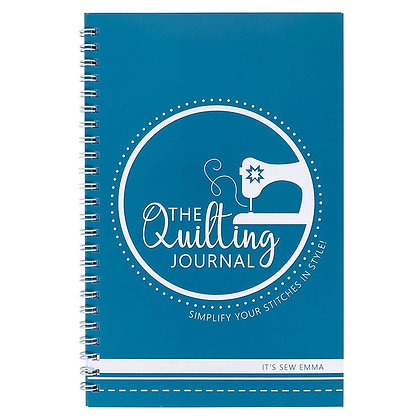 The Quilting Journal by It's Sew Emma to journal all of your quilting projects