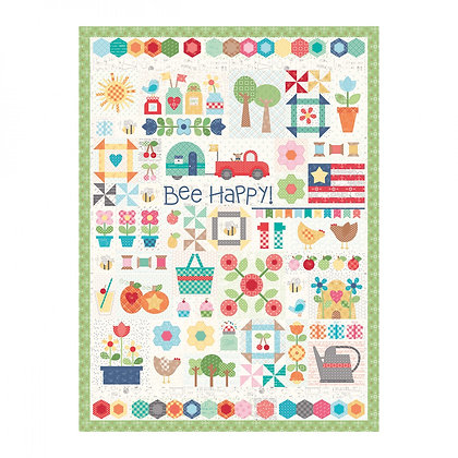 Bee Happy 1000 piece Quilt Puzzle by Lori Holt