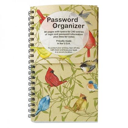 Birds Password Organizer Quilt Sew Craft