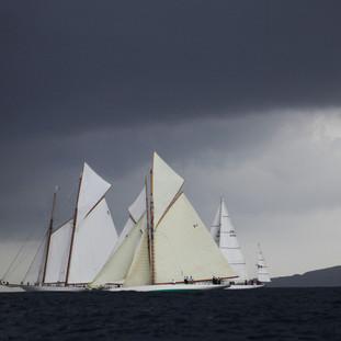 Christopher de Doby The storm is coming, Saint Tropez $390.JPG