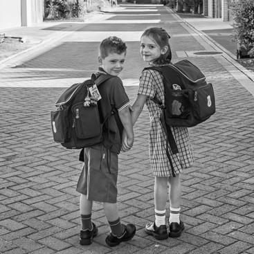 michael_bucknell_twins_first_day_school_