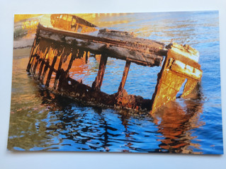 Andy Rogers Sawmillers Barge Wreck