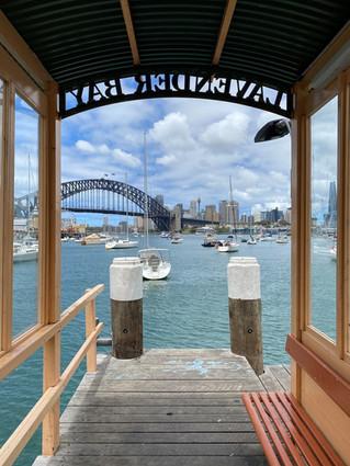 Richard Duval Lavender Bay Wharf 2020
