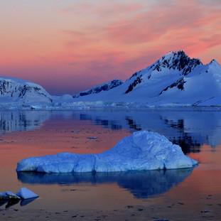 Barbara Bryan Antarctic sunset $400.jpg