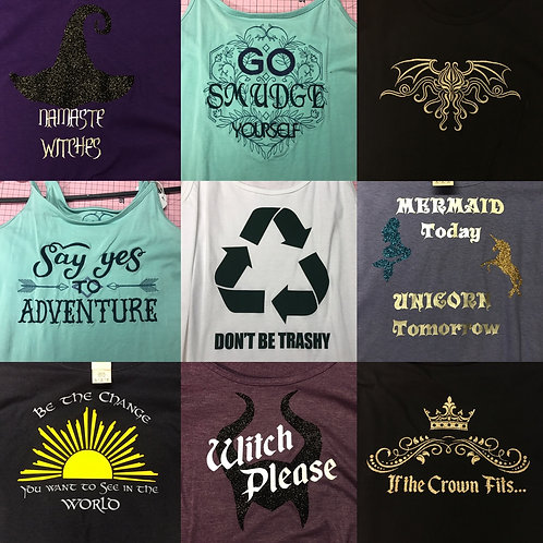 Clearance -tank tops