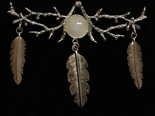 Moonstone and Feathers