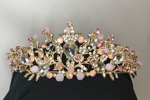 Roses and gold tiara