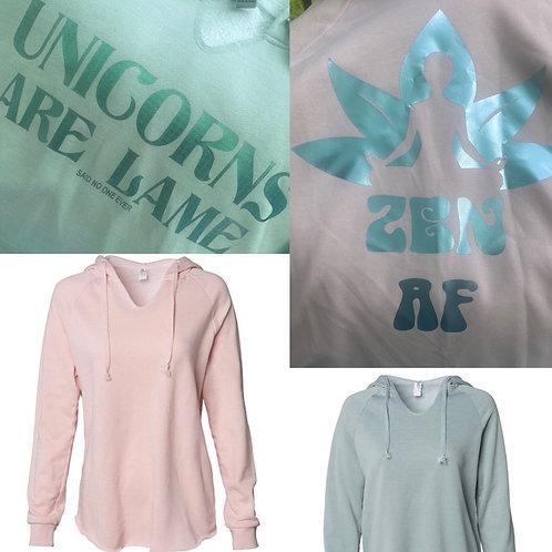 Zen AF Super Soft pullover hoodie