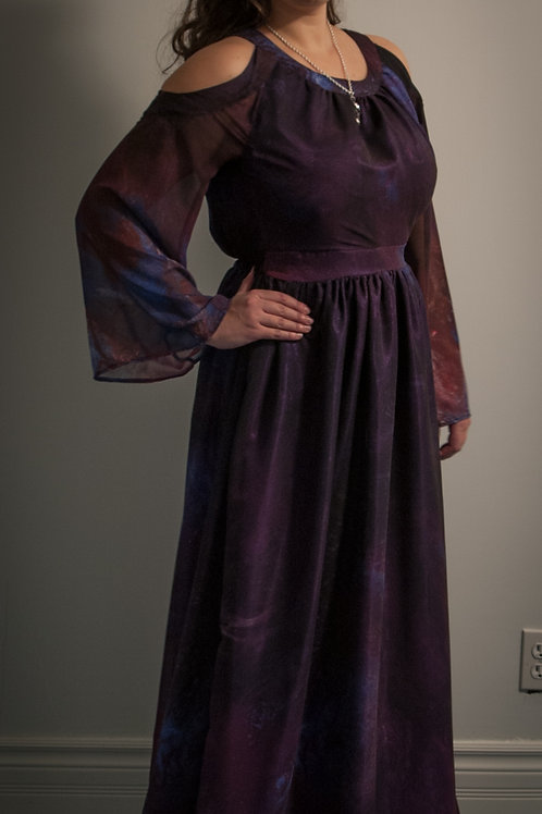 Elixir Chiffon gown
