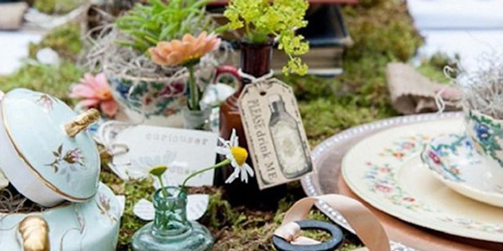 Wonderland Tea for the Birds