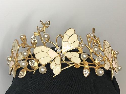 Golden Burtterflies tiara