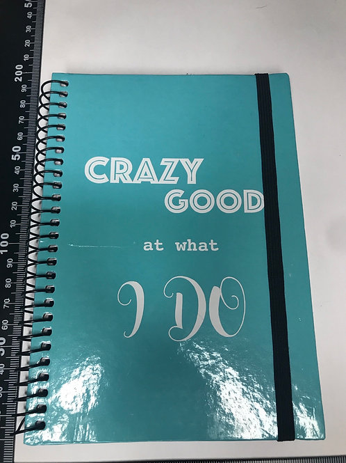 'Crazy Good at what I do' journal