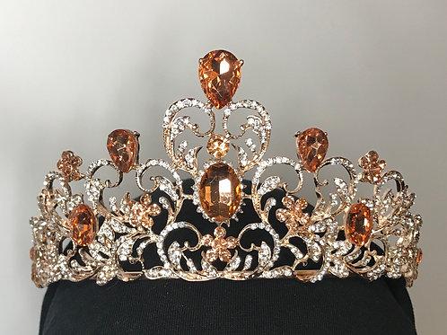 Amber & Rose tiara