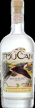 Rhum blanc Toucan