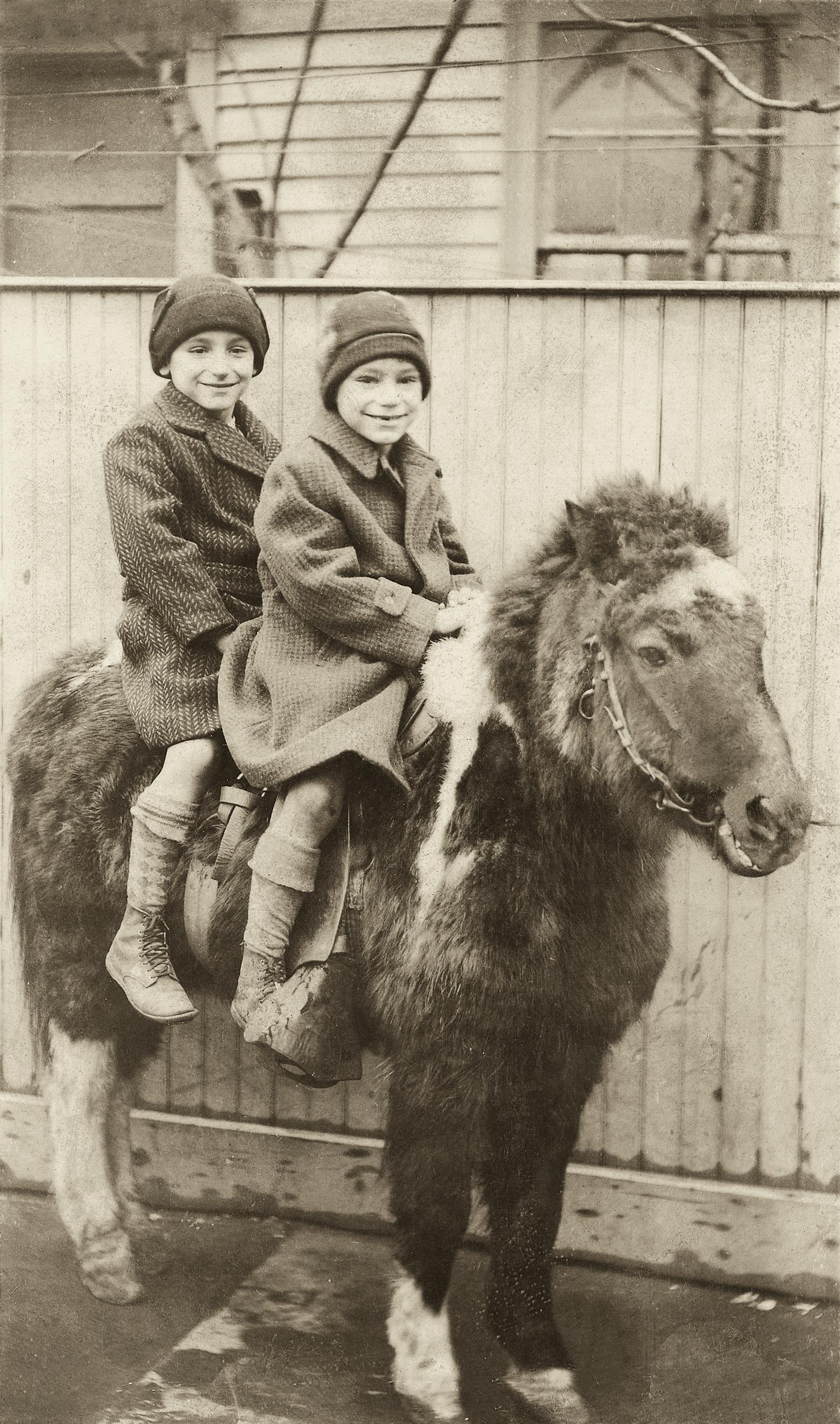 Joseph and Robert, 1938