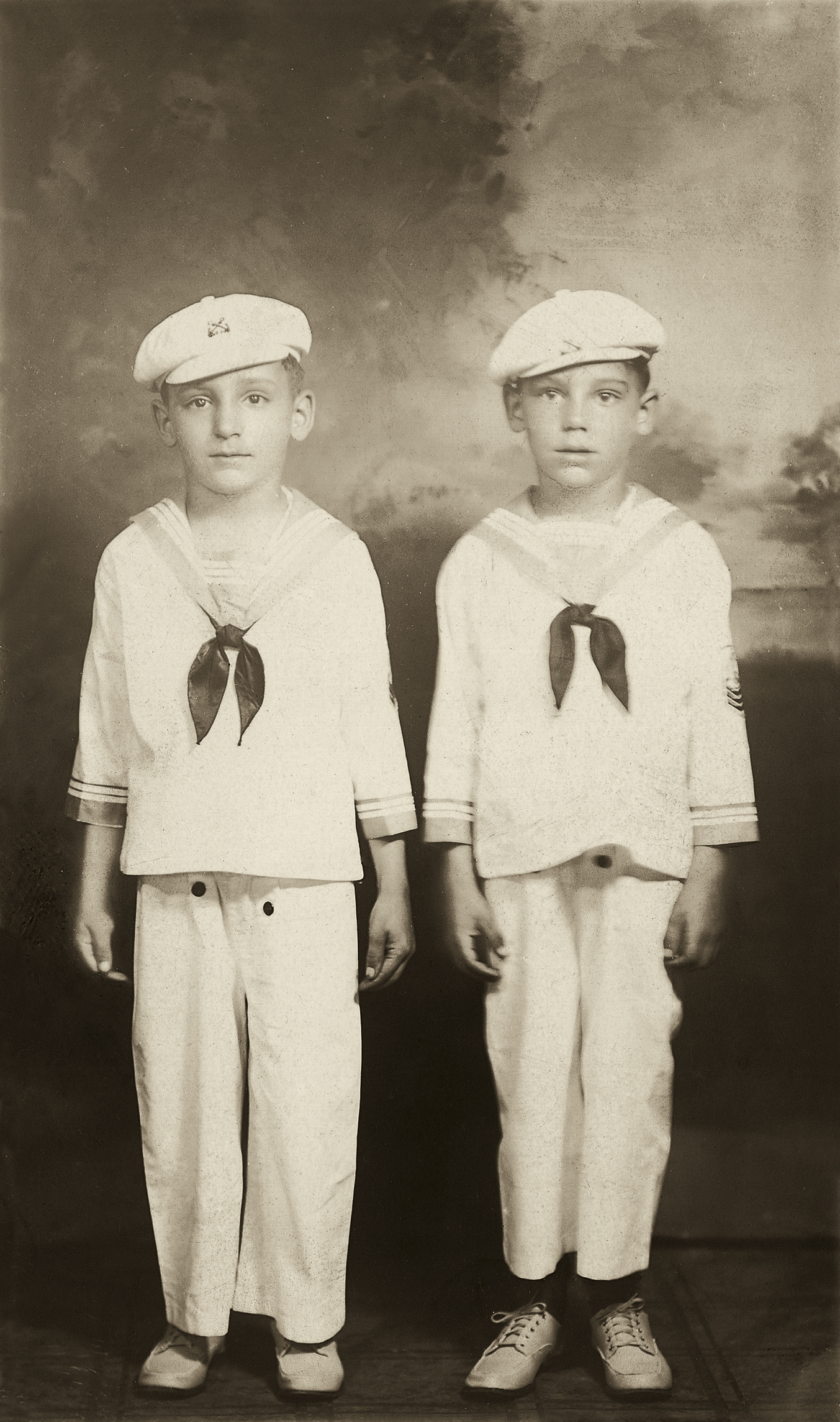 Joseph and Robert Caulfield, 1936