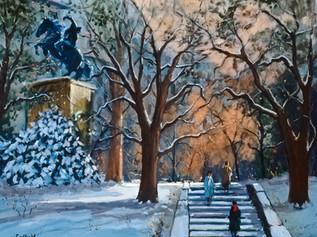 Central Park, New York, Dusk