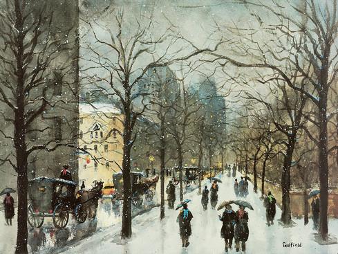 Light Snow, Fifth Avenue