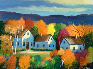 Fall Evening, Vermont