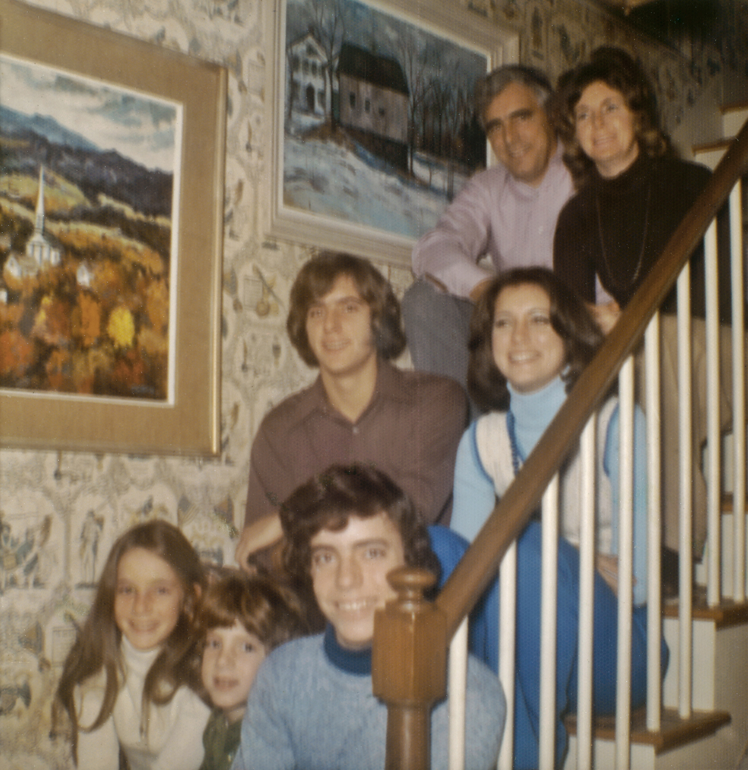 The Caulfield Family, 1975