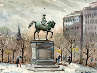 Equestrian Statue of George Washington, Boston