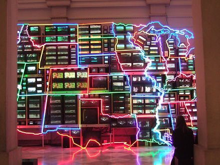 Electronic_Superhighway_by_Nam_June_Paik
