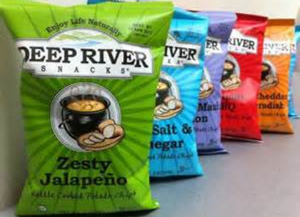 DEEP RIVER CHIPS, SMALL BAGS, ASSORTED