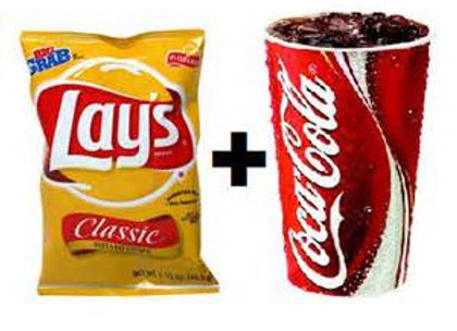 MAKE IT A VALUE MEAL W/ SML FOUNTAIN SODA & CHIPS