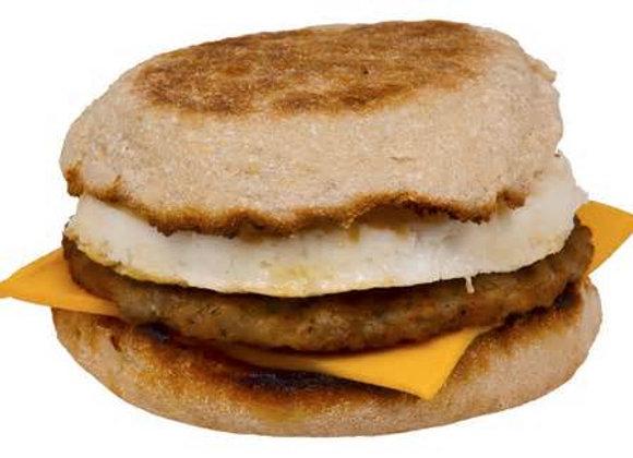 BREAKFAST MUFFIN SANDWICH