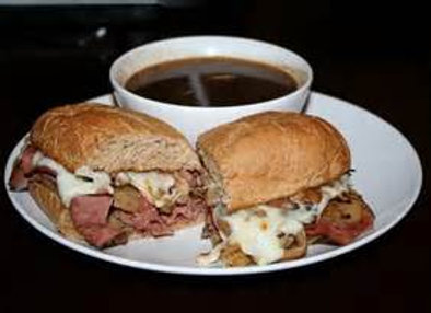 FRENCH DIP W/ AJUS FOR DIPPING