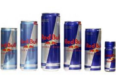 ENERGY DRINKS, RED BULL